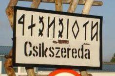 Runic alphabet system is still alive. rovásírás -