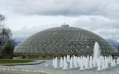 Group delivers plan to park board to save the Bloedel Conservatory A group fighting to save the Bloedel Conservatory delivered to the park board Thursday its proposal to retain the domed landmark by making it part of VanDusen Gardens. Calgary, Vancouver Vacation, Queen Elizabeth Park, Winter Months, Conservatory, Taj Mahal, Environment, How To Plan, City