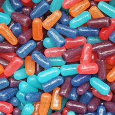 Mike & Ike Berry Blast from Temptation Candy! Blue Candy, Rock Candy, Mike And Ike, Tasty, Yummy Food, Candy Land, Pick Me Up, Gumball, Chip Cookies