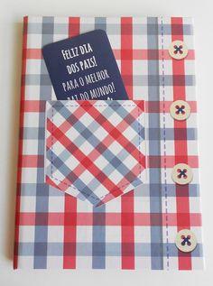 """Caderno temático """"PAI"""" - com cartão"""