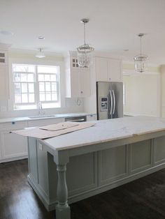 Island ideas, not the counter top or color.