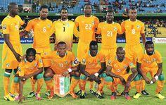 Equipo de Costa de Marfil en el mundial