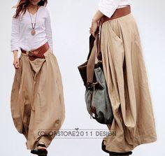 Baggy skirt