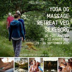 MEDITATIV YOGA, AYURVEDISK WALKING MASSAGE OG MEDITATION Træk vejret og fornem dig selv slappe af. Gå ind i dig selv, mærk din krop og forbind dig med dit virkelige jeg. Giv slip på hverdagen og overgiv dig til dit indre. Nyd en weekend med yoga, der rører din sjæl, med massage der løsner op for spændinger, og meditation der skaber dybere forbundenhed. Der er fokus på dyb indre afslapning, hvor der er masser af tid til at mærke og komme i kontakt med kroppens intuition. Giv Slip, Dyb, Massage, Yoga, Intuition, Meditation, Massage Therapy, Zen