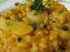 arroz con sepia con thermomix, arroz con thermomix, sepia con thermomix, arroz con sepia y gambas thermomix, Spanish Cuisine, Spanish Food, Polenta, Food N, Food And Drink, Salad Recipes, Diet Recipes, Easy Recipes, Mexican Food Recipes