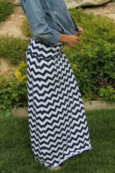 Maxi skirt tutorial. LOVE IT!