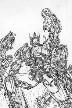 TRANSFORMERS KTVS COVER by 1314
