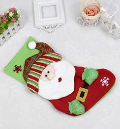 Mikey Store Christmas Party Candy Gift Bag Stocks Filler Xmas Hanging Decor H *** This is an Amazon Affiliate link. Check out this great product.