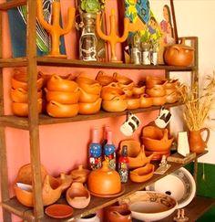 Venta de artesanía en La Casa del Páramo Mérida Venezuela