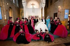 bad bridesmaid style ugly bridal party photos wedding fun 9 Dresses, and Fashion, Party Attire, Bridesmaid Dresses, Fun Gypsy Wedding Gowns, My Big Fat Gypsy Wedding, Gipsy Wedding, Wedding Dresses, Bad Bridesmaid Dresses, Bridesmaids, Wedding Fail, Wedding Ideas, Wedding Pictures