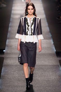 >Louis Vuitton spring 2015 collection show.