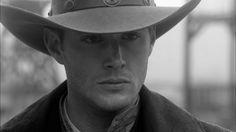 Dean Winchester Jensen Ackles Cowboy Hat - HD Wallpaper #324262