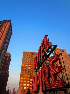 DONE CHUCK & BLAIR  SCENE  Hotel Empire NYC