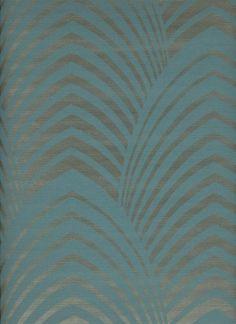 Tapete Deco Col.16 | Designer Tapeten In Den Farben Türkis   Blau .