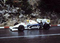 Ayrton Senna Da Silva - Toleman TG184 Hart 415T - Toleman Group Motorsport - XLII Grand Prix Automobile de Monaco - 1984 World Formula One Championship, round 6