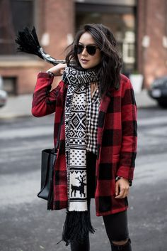 Winter Outfit Idea: How To Wear Fair Isle with @oldnavy
