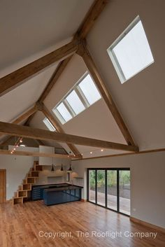 Three neo™ Steel rooflights were linked together for this property.     Available at http://www.therooflightcompany.co.uk
