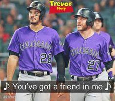 Baseball Memes, Baseball Cards, Sports, Mens Tops, T Shirt, Colorado, Fashion, Hs Sports, Supreme T Shirt