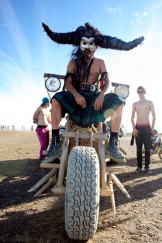 Chariot rider, AfricaBurn 2012 Tanqua Karoo, Western Cape Wonders Of The World, Cape, Monster Trucks, Lifestyle, Places, Inspiration, Beautiful, Mantle, Biblical Inspiration