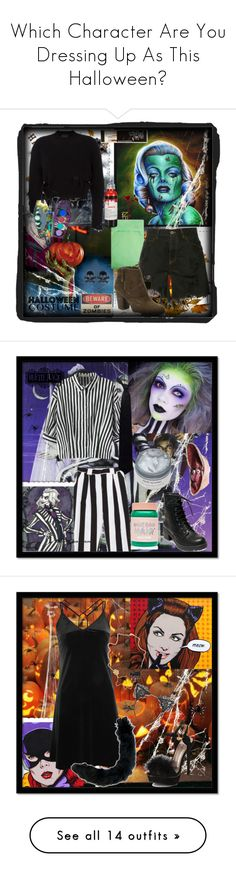 """Which Character Are You Dressing Up As This Halloween?"" by ronny22 ❤ liked on Polyvore featuring Improvements, Creative Co-op, Balenciaga, Faith Connexion, Madden Girl, LunatiCK Cosmetic Labs, vintage, ColourPop, Lime Crime and Religion Clothing"