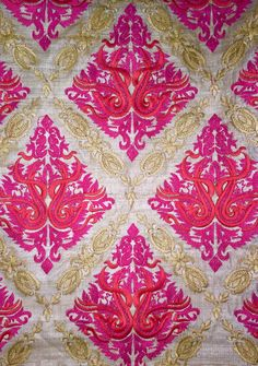 #indian #embroidery #designer #handwork #design #colourcombination #embellishments #fabrics #embroiderydesigns #threadwork #creative #embroiderypatterns #diy Indian Embroidery Designs, Embroidery Patterns, Thread Work, Embellishments, Fabrics, Quilts, Blanket, Creative, Diy