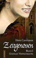 """""""Hope Cavendishs """"Zeitgenossen - Gemmas Verwandlung"""" ist ein toller Serienauftakt, der jeden Vampirfan begeistern wird. Doch auch diejenigen, die die Nase voll haben, kommen auf ihre Kosten, denn Klischees sucht man hier vergeblich!"""" Ricarda von Ricas Fantastische Bücherwelt"""