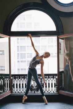 // window dancing picture
