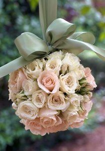 Fancy Fabric Flower Pomander :  wedding PrvFlower+girl%27s+pomander  LOVE!!!!!!!!!!!!!!!!!!!!!!!!