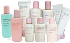 MARY KAY CLASSIC BASIC SKIN CARE PRODUCTS SELECT FORMULAS FOR DRY TO OILY SKIN #MARYKAY