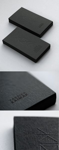 #business card #businesscards Fedrigoni paper black http://www.bce-online.com/en/