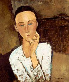 Modigliani, Amadeo : Lunia Czechowska.