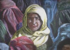 Afghani girl - WetCanvas Artwork, Artist, Painting, Work Of Art, Painting Art, Paint, Draw, Amen, Artists