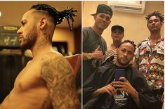 Neymar Debuts New Hairstyle As He Recovers From Injury