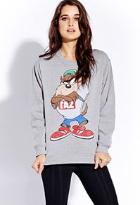 Taz Sweatshirt   FOREVER 21