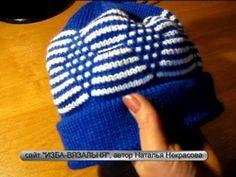 """12 образец Фанговый рисунок """"РОМБЫ"""" http://izba-vyazalinya.ru/ - YouTube"""