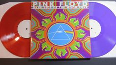 Online veilinghuis Catawiki: Pink Floyd ‎– Dark Side Of The Moon Tour (Township Auditorium - Columbia South Carolina April 16th 1972) 2LP PURPLE + RED TRANSPARANT * VERY limited to only 34 copies! *
