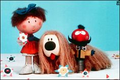 The Magic Roundabout with Florence, Dougal and Zebedee