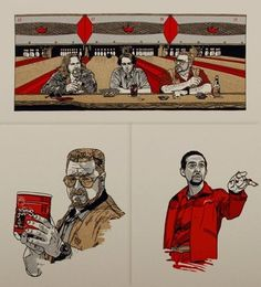 OMG Posters! » Archive » Tyler Stout Handbill Sets