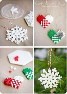 Perler Bead Heart Designs | ... Perler-weaving - Hama - - Fuse bead designs - Perler Bead - Perler