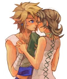 Link and Ilia (from The Legend of Zelda: Twilight Princess)