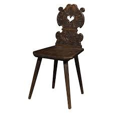 Late Baroque Carved Black Forest Wood Chair, Dated 1791 1 Antique Furniture, Cool Furniture, Modern Furniture, Queen Anne Chair, Black Forest Wood, Simply Home, Cottage Signs, Leather Art, Furniture Inspiration
