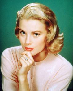 "Grace Kelly, will always love ""To Catch A Thief"" and ""Rear Window"""
