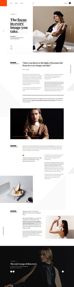 More site inspiration. Web Design Trends, News Web Design, Homepage Design, Blog Design, News Website Design, Design Ios, Newsletter Design, Website Designs, Graphic Design