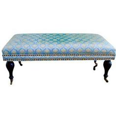 Custom Upholstered Bench