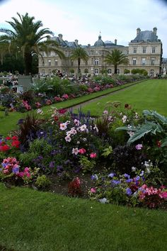 Paris, le Palais du Luxembourg siège du Sénat. The adjoining jardin is gorgeous and was just 2 blocks from out hotel!