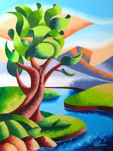 "Mark Webster Artist - 12x9"" Oil on Canvas."