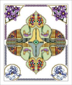 Celtic May - Cross Stitch Pattern.  I loved doing cross stitch but had to give it up years ago because it really bothered my hands.  Maybe it's time to go back and try again...