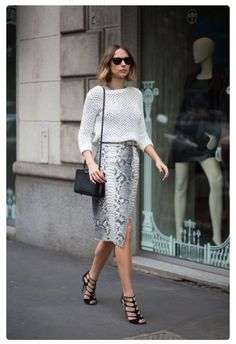 she went to work - looks we love - anything animal print