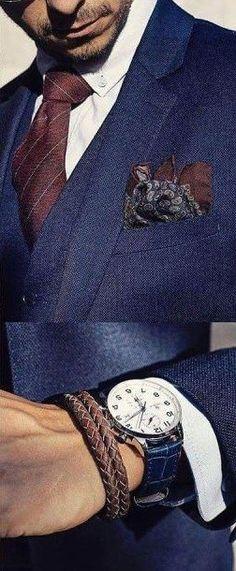 accessories the blue suit