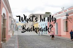 Are you a female traveling to Guatemala? Check out my Guatemala packing list for two weeks to see everything that I brought and needed!